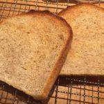 TigerのHBで全粒粉入り食パン焼いてみたよ!