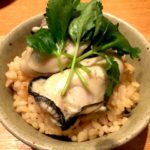 贅沢!!牡蠣がゴロゴロ、牡蠣ご飯。