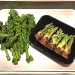 旬ですから、春野菜の天ぷら!