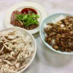 はじめての鶏肉飯、雙連街魯肉飯 台湾旅行2017.04⑭