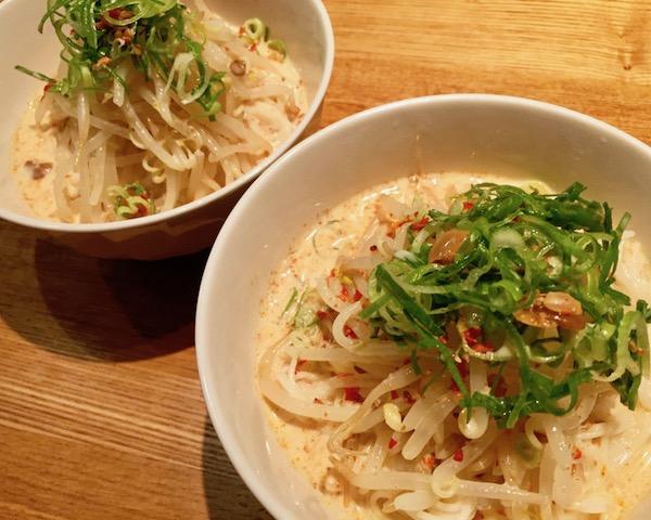 【実食】明徳の辣豆板醤でつくるタンタン風そうめん!
