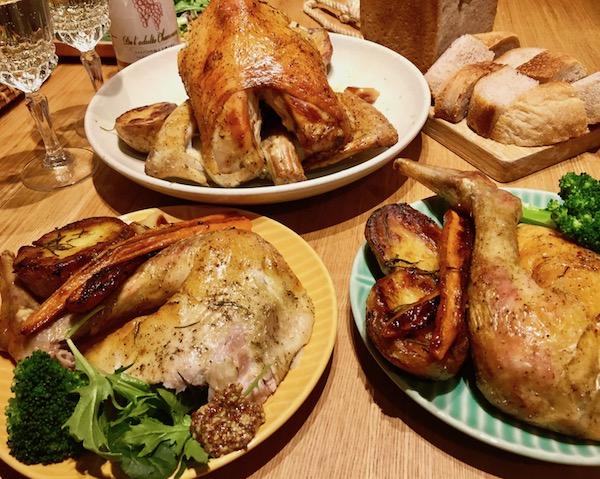 念願かなった☆クリスマスの丸焼きローストチキン!!