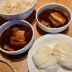 五十嵐シェフの豚の角煮と中華蒸しパン!