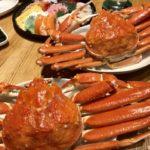 でっかい蟹が来た〜!!