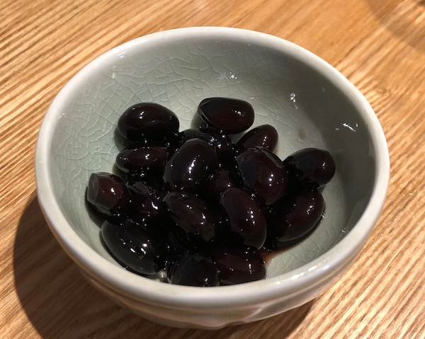 きび砂糖で黒豆の瓶詰め!①