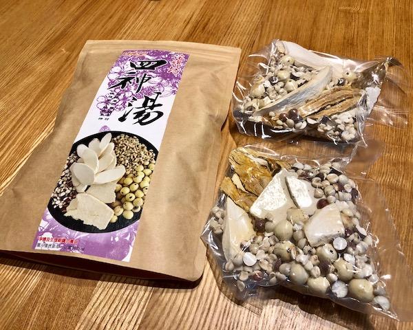 【実食】迪化街で買った四神湯キット、旨し!