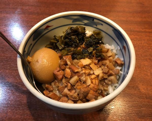 横浜中華街で台湾気分満喫!⑤-魯肉飯と排骨飯-