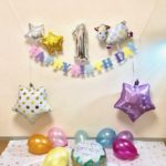 祝1歳はスマッシュケーキで!☆装飾&衣装編